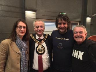 Mayor and MC