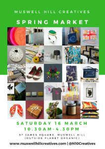 Muswell Hill Creatives Spring Market